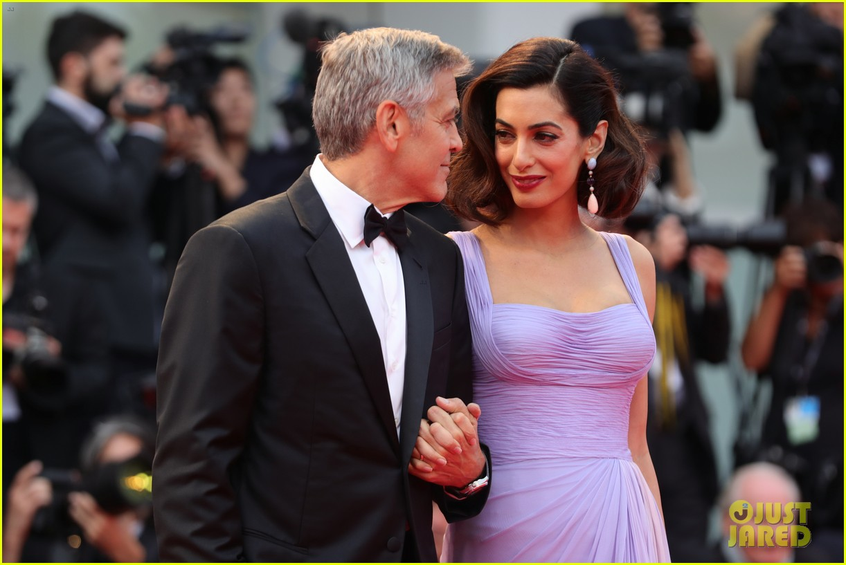 george amal clooney make first red carpet appearance since becoming parents 043949472