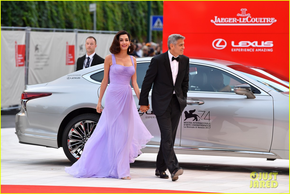 george amal clooney make first red carpet appearance since becoming parents 053949473