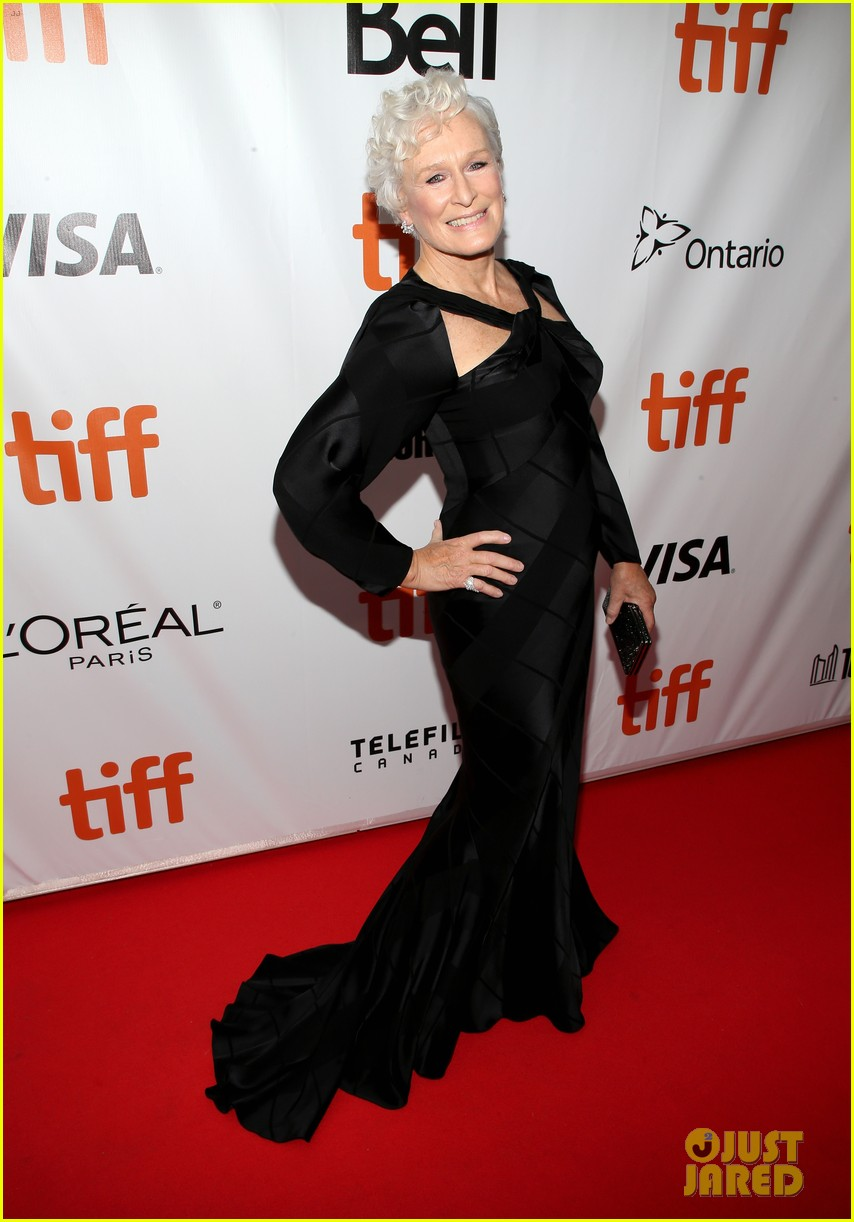 glenn close daughter annie stark premiere their new movie the wife at tiff 013957274