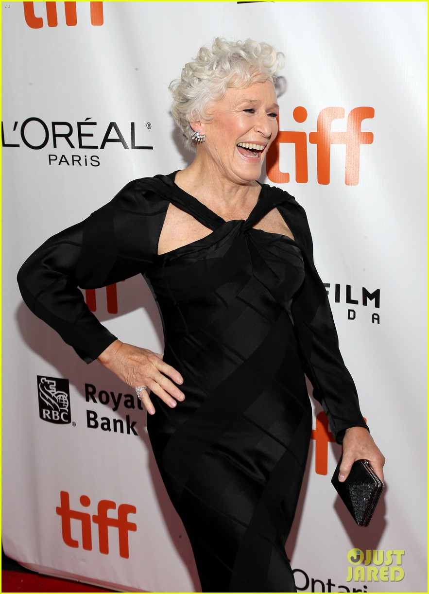 glenn close daughter annie stark premiere their new movie the wife at tiff 033957276