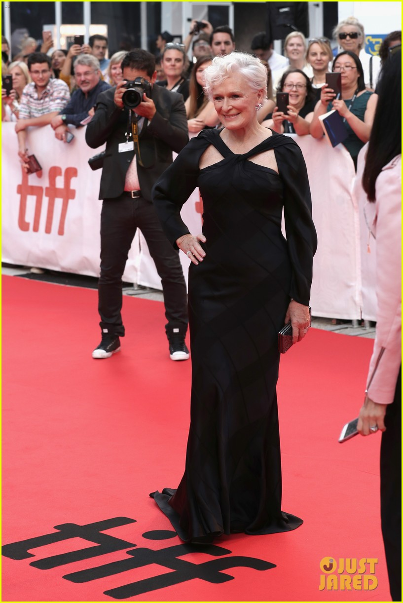 glenn close daughter annie stark premiere their new movie the wife at tiff 143957287
