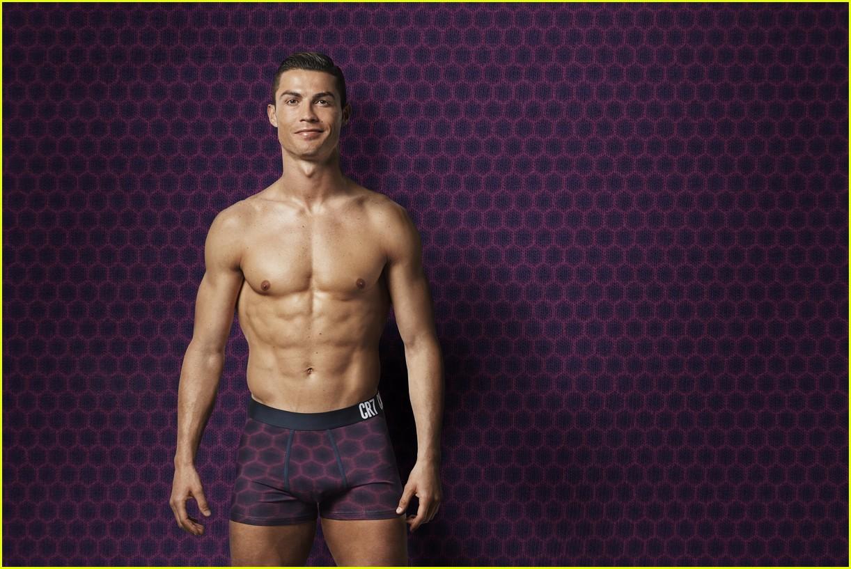 Cristiano Ronaldo Strips Down to His Underwear & Puts His