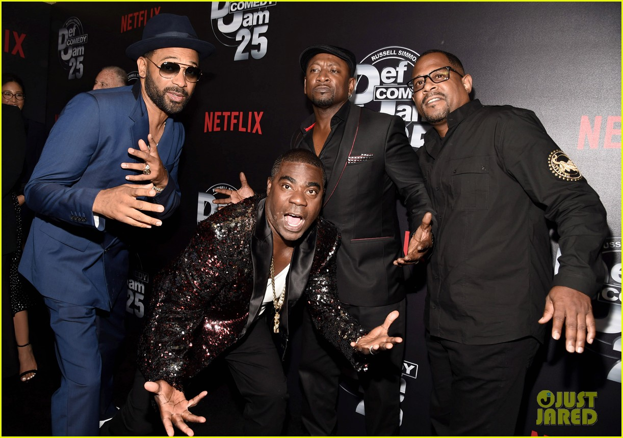 dave chappelle celebrates emmy win at def comedy jam party 053954884