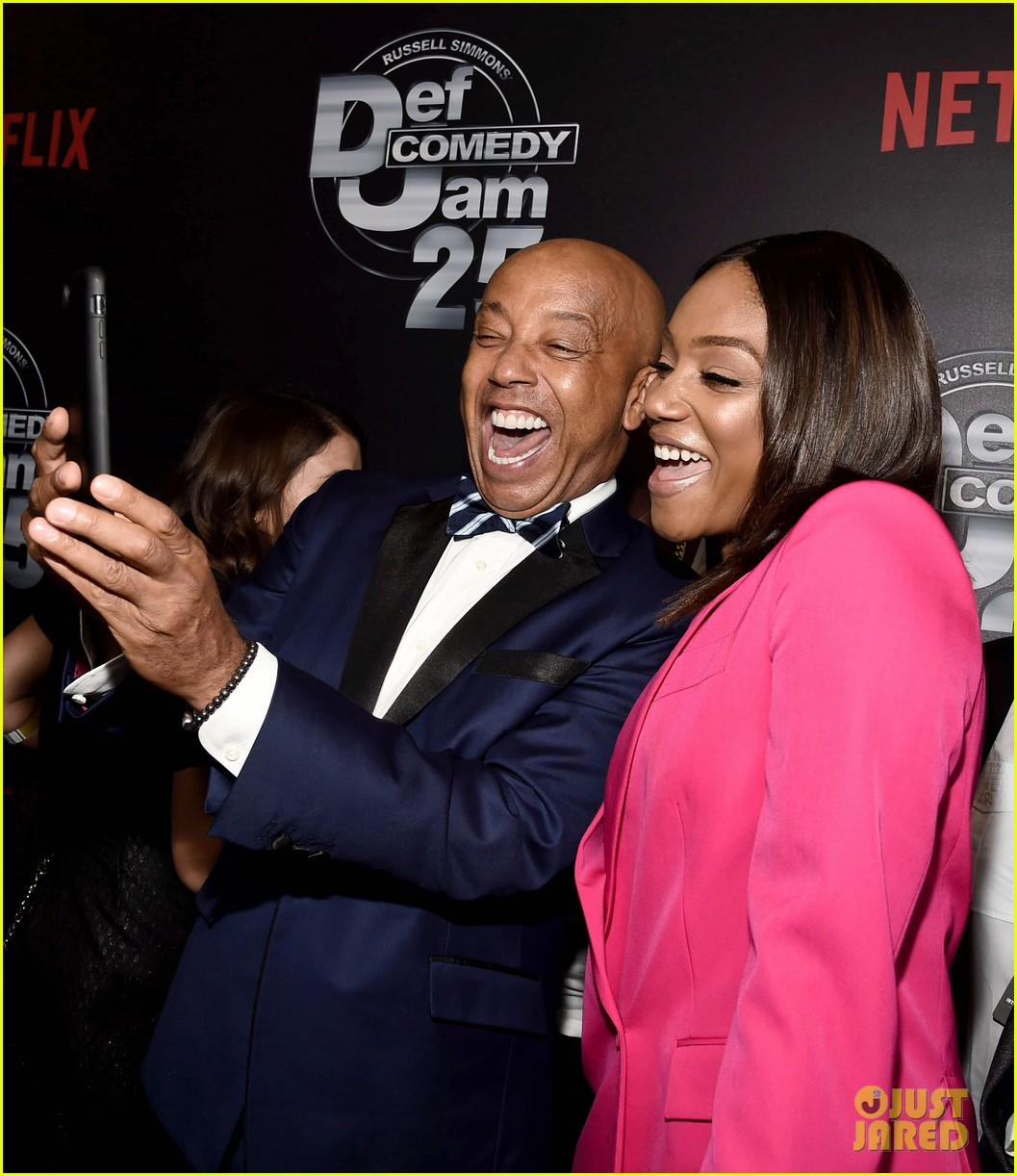 dave chappelle celebrates emmy win at def comedy jam party 123954891