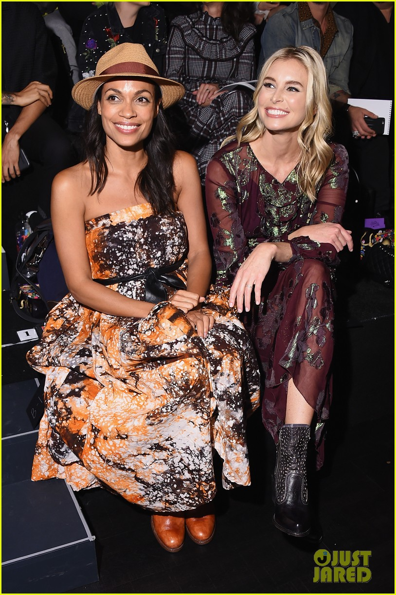 rosario dawson nyfw events 053955599