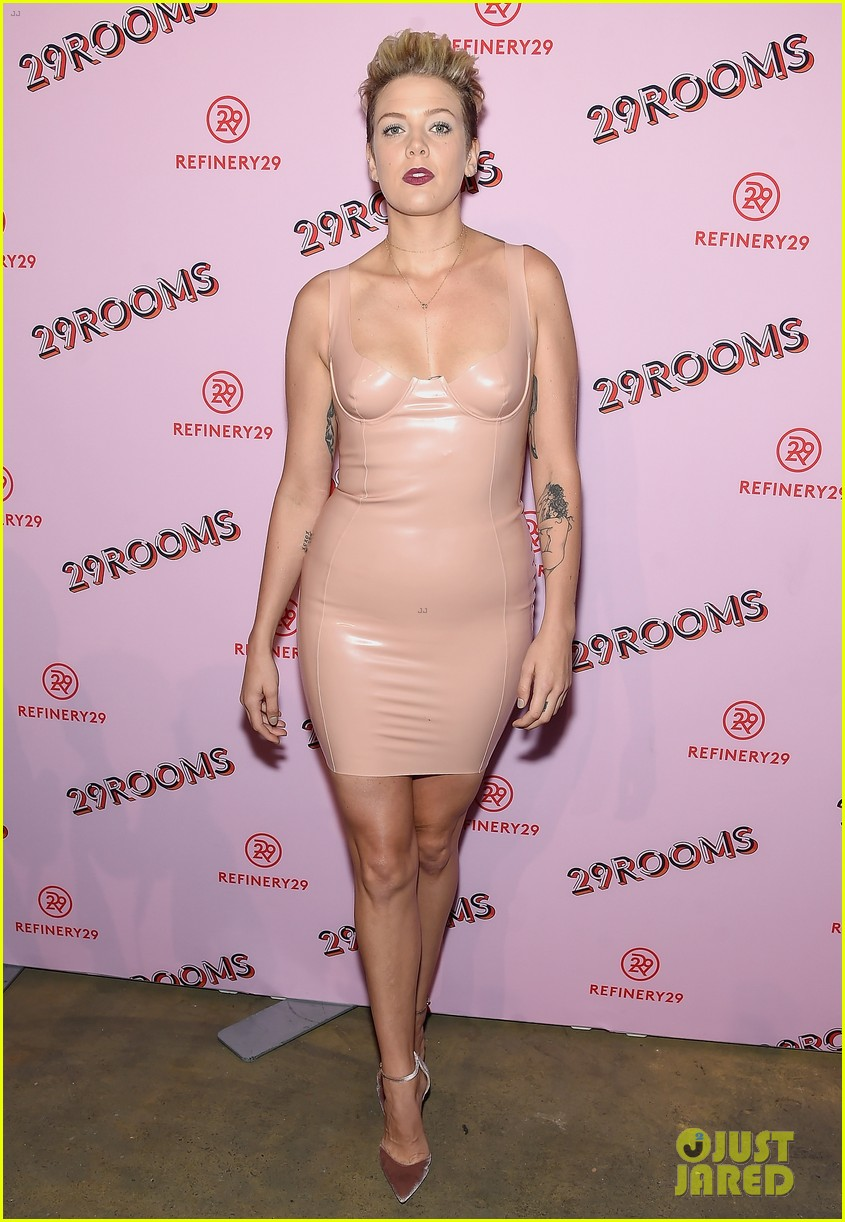 Rachel Bilson & Rosario Dawson Meet Up at Star-Studded 29Rooms Event ...