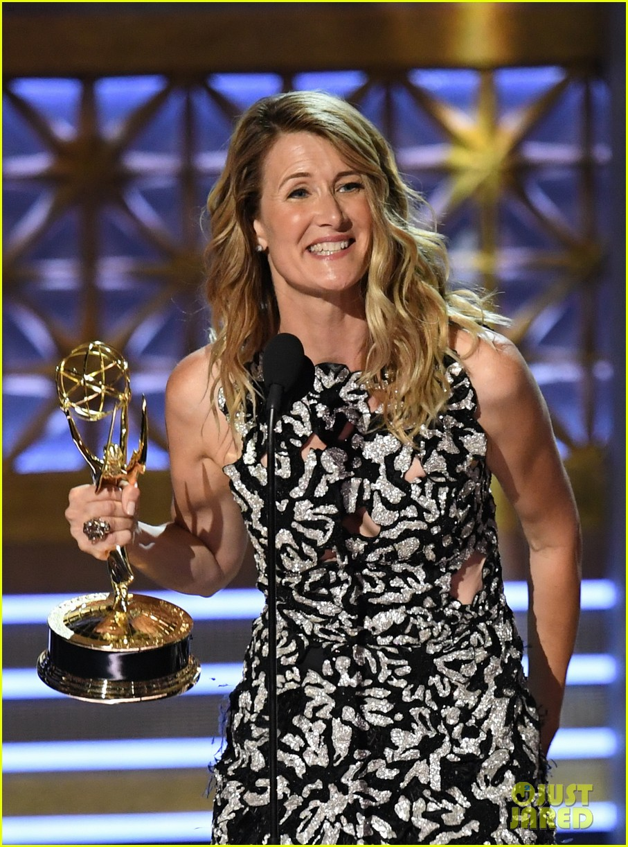 laura dern wns best supporting actress for big little lies at emmy 2017 023959323