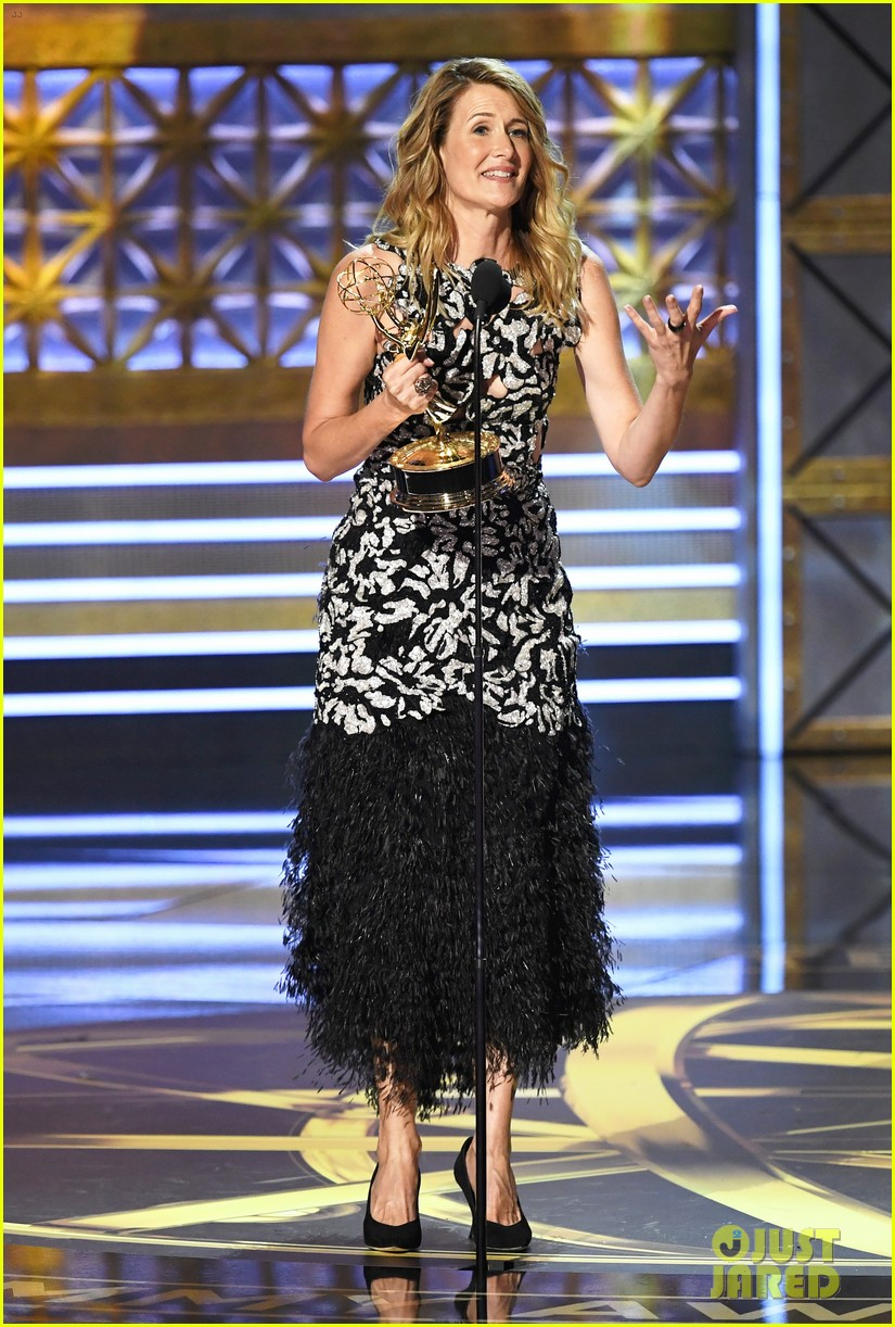 laura dern wns best supporting actress for big little lies at emmy 2017 073959328