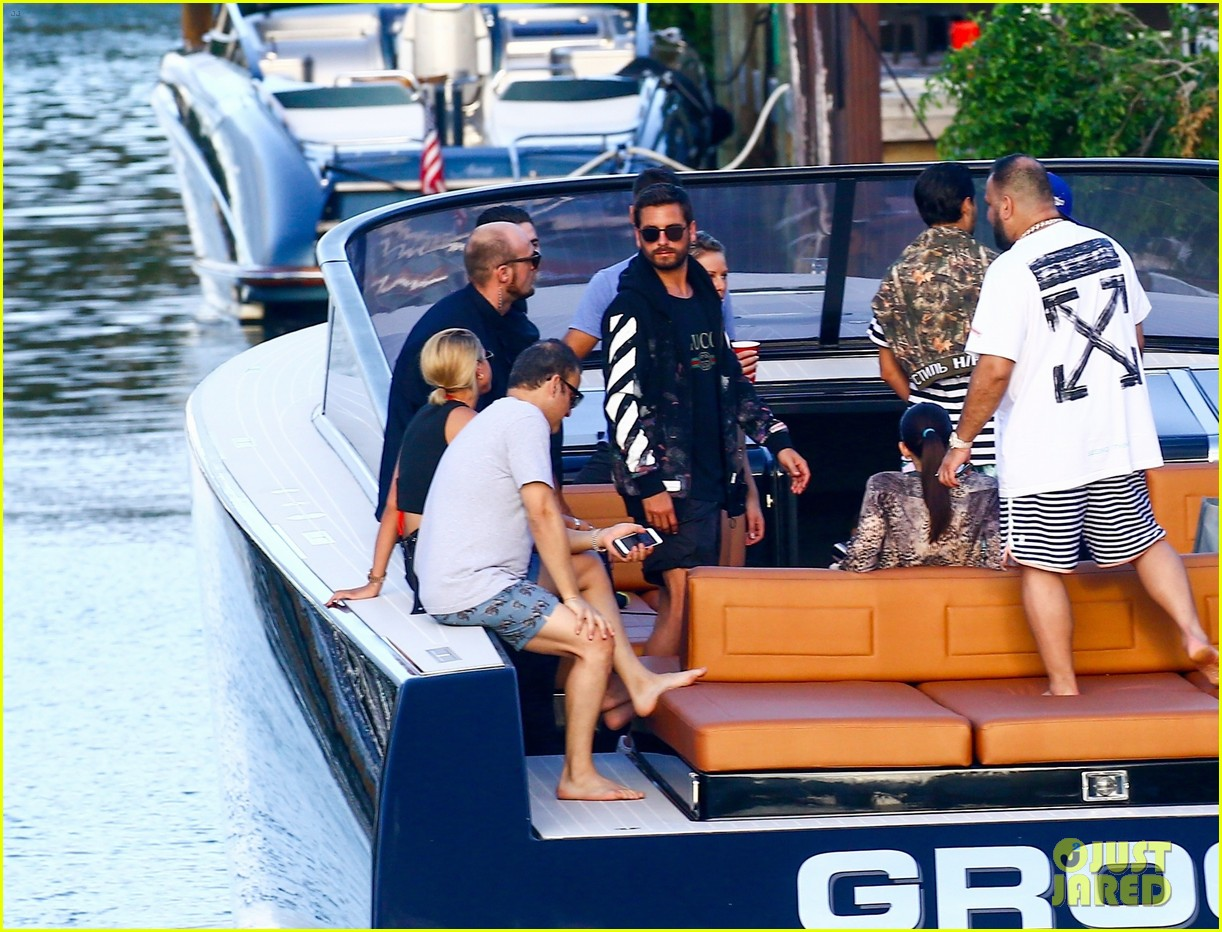 scott disick and sofia richie flaunt pda on a boat with friends2 173962997