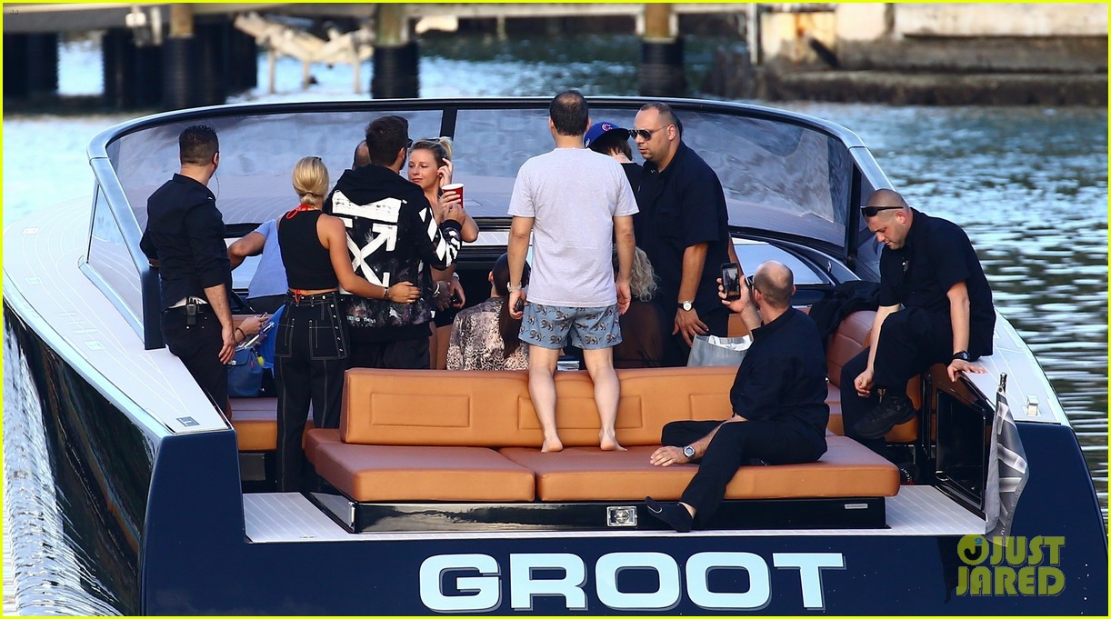 scott disick and sofia richie flaunt pda on a boat with friends2 233963003