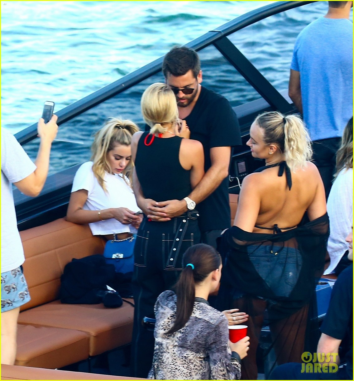 scott disick and sofia richie flaunt pda on a boat with friends2 463963026