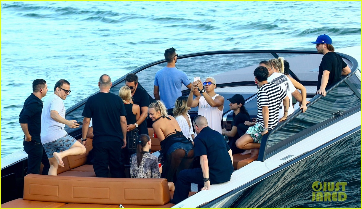 scott disick and sofia richie flaunt pda on a boat with friends2 473963027
