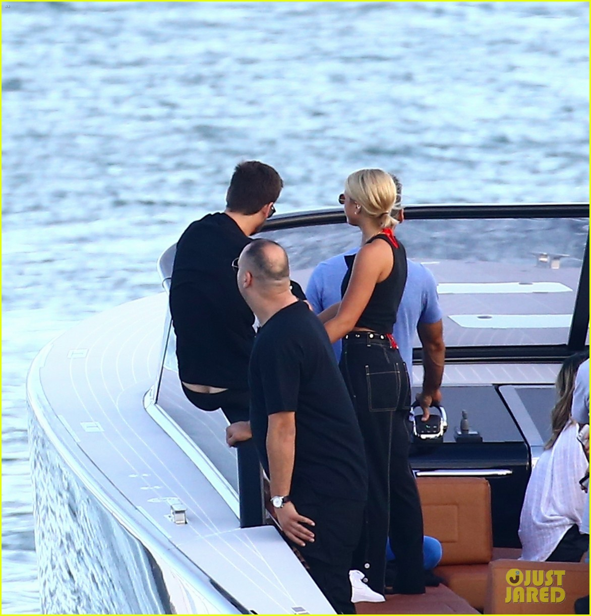 scott disick and sofia richie flaunt pda on a boat with friends2 493963029