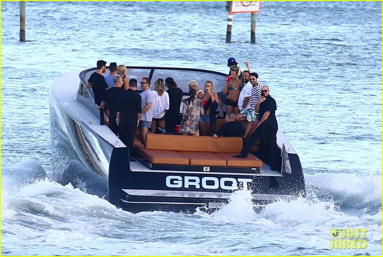 scott disick and sofia richie flaunt pda on a boat with friends2 573963335