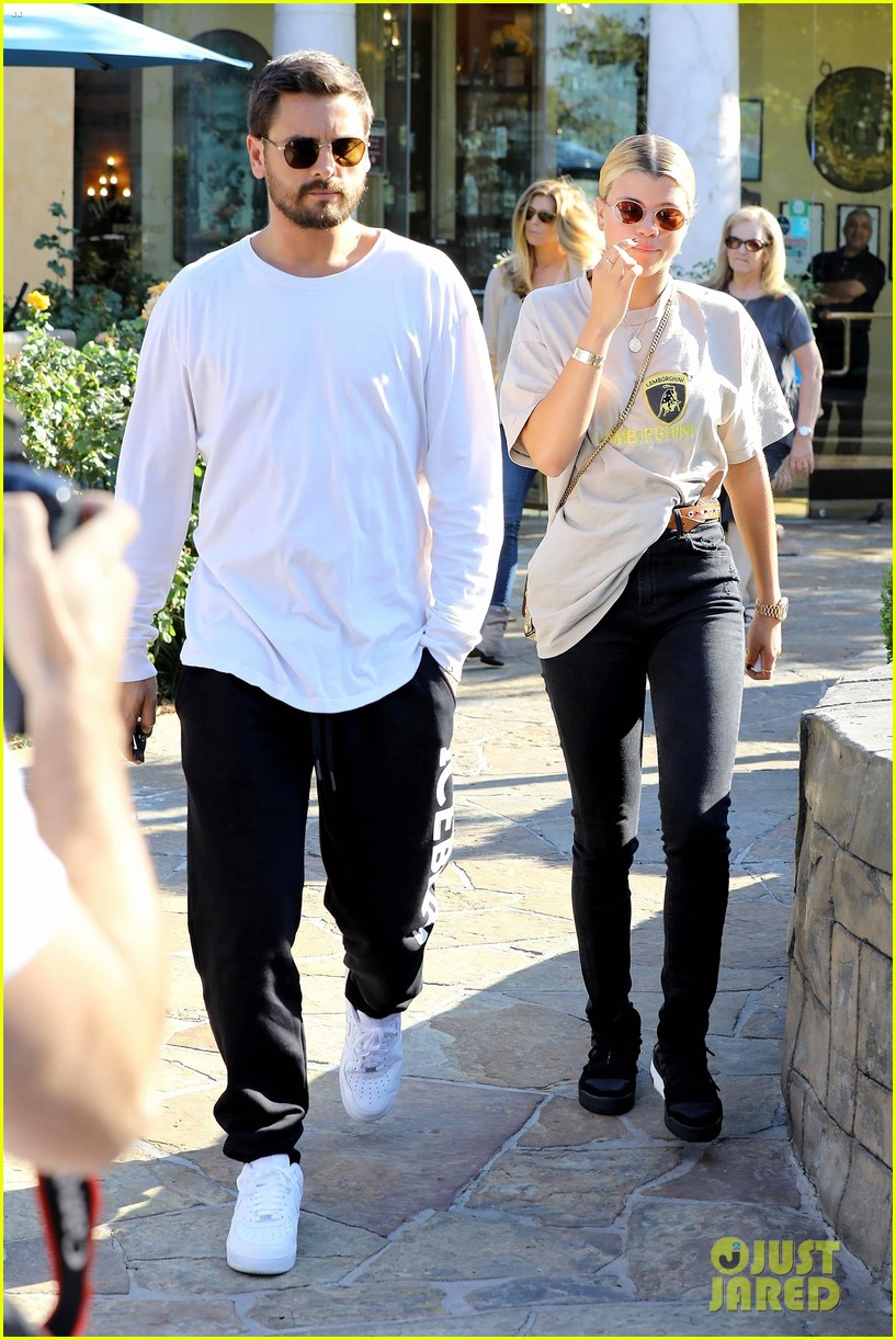 scott disick sofia richie step out for lunch date 033965058