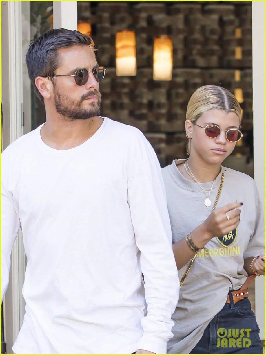 scott disick sofia richie step out for lunch date 043965059