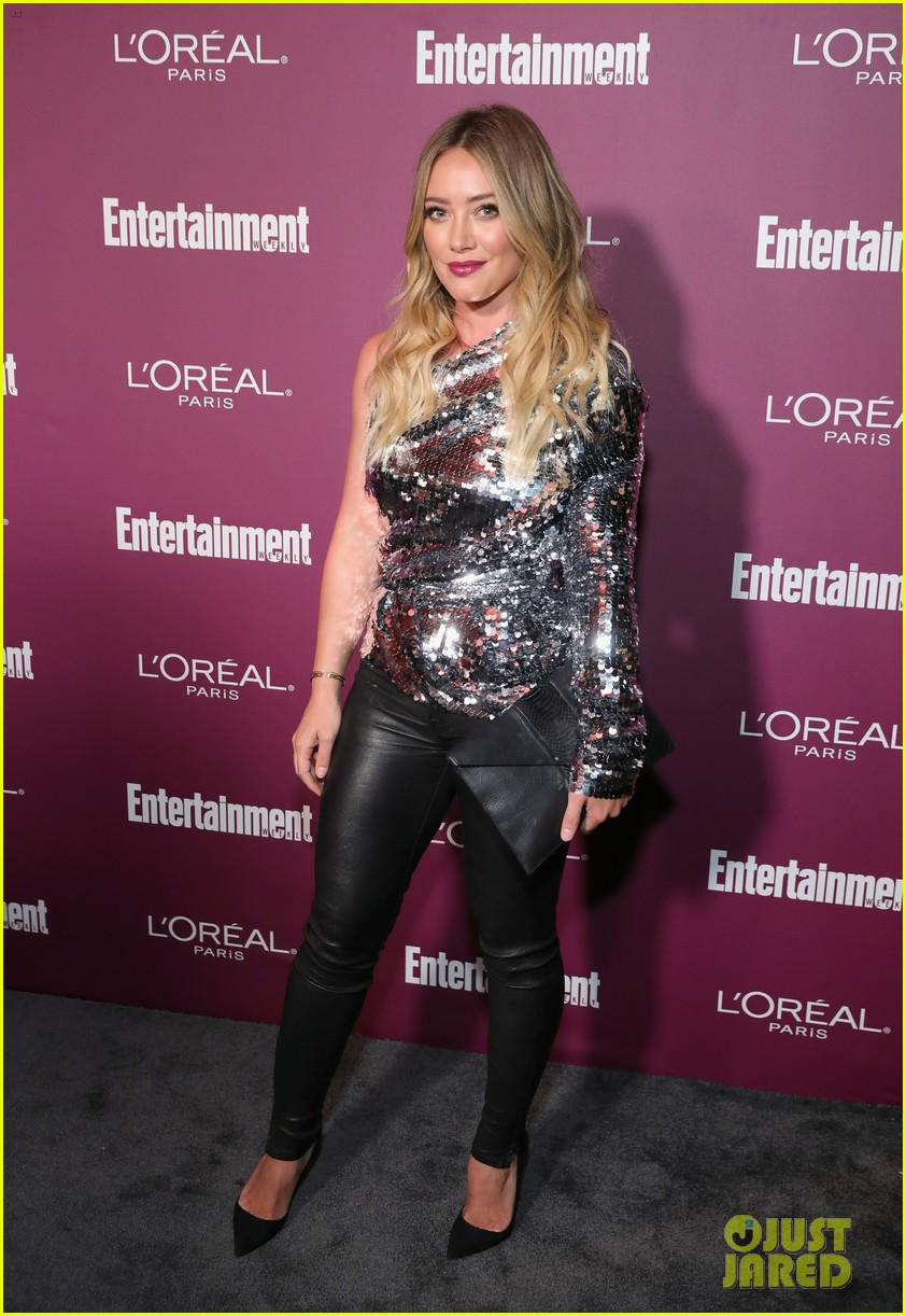 hilary duff sophia bush ew pre emmys party 013958173