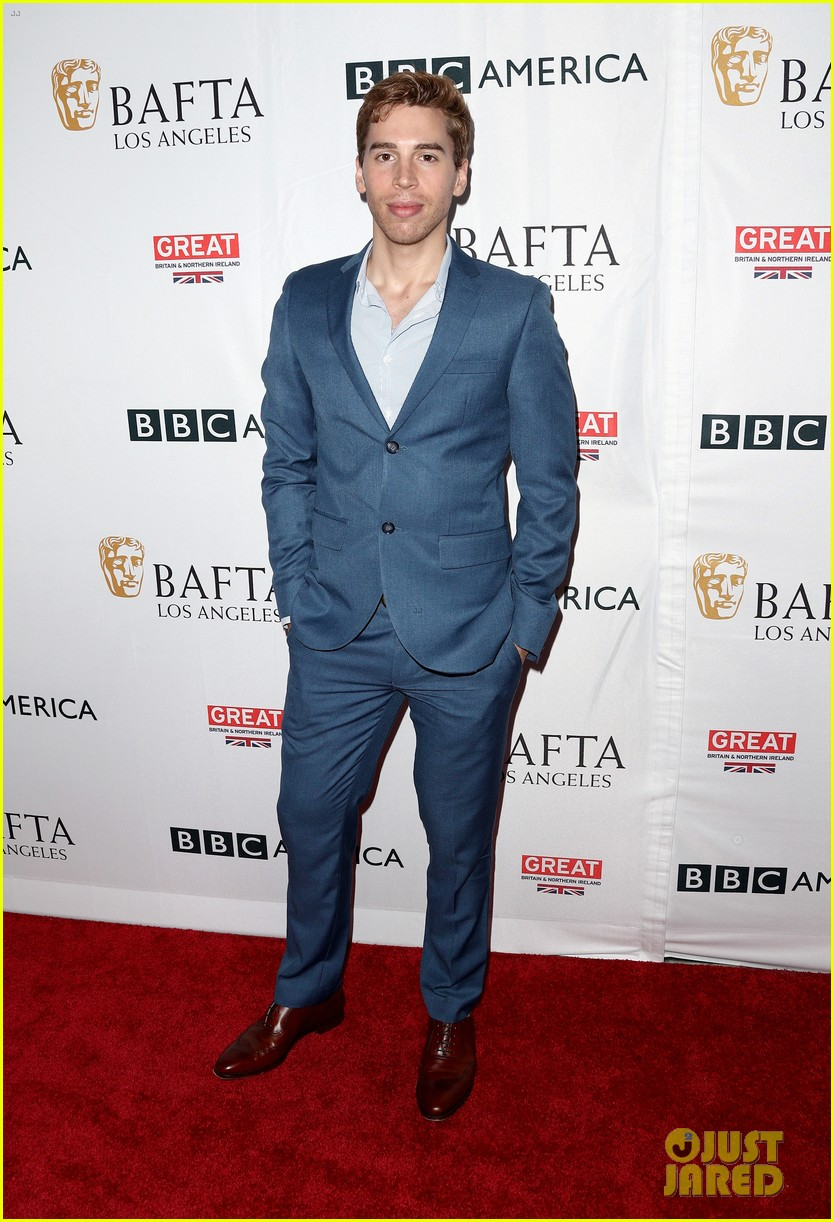 claire foy matt smith step out for bafta tea party 053958564