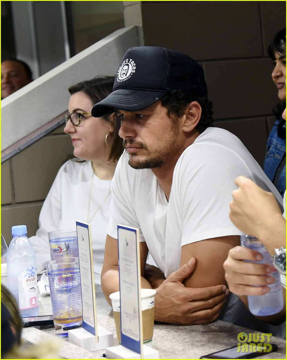 james franco kevin zegers hang out at us open 023950291