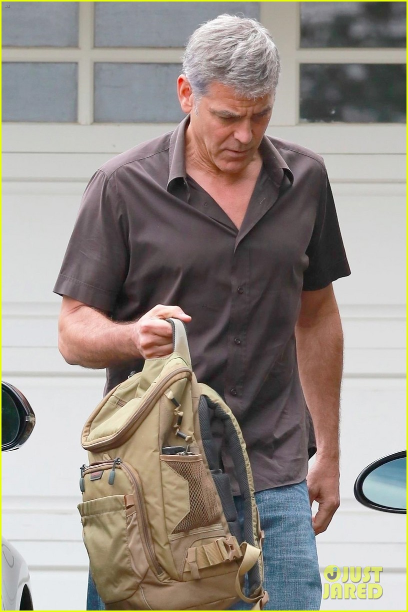 george clooney returns home to la 043961483