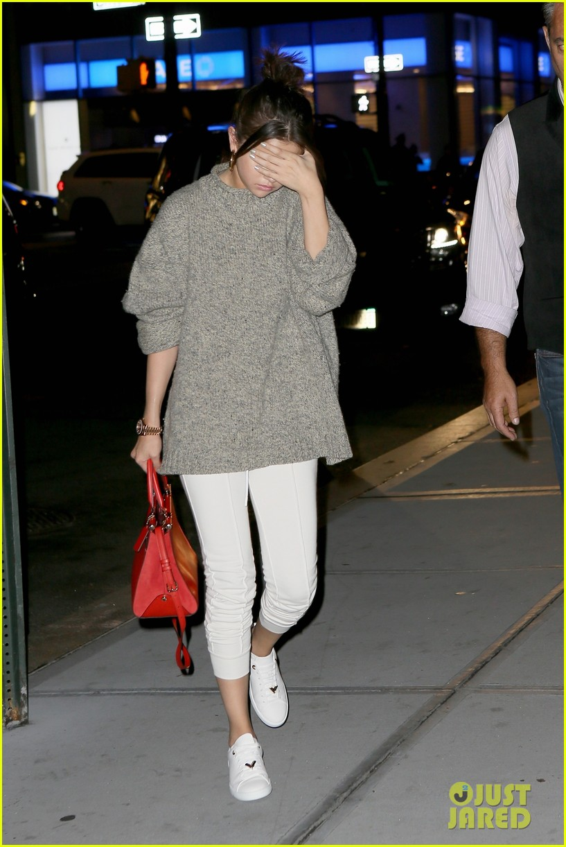 selena gomez the weeknd step out for low key date night 033949996