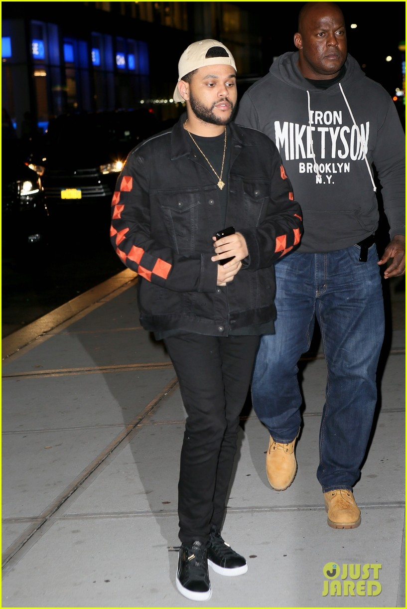 selena gomez the weeknd step out for low key date night 043949997