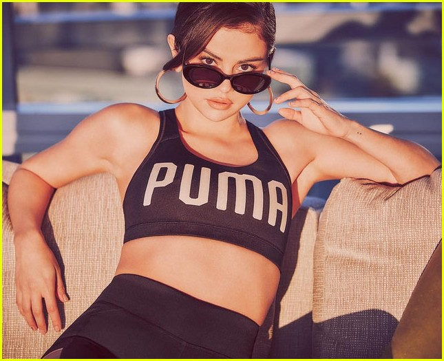 selena gomez announces puma partnership 023960319