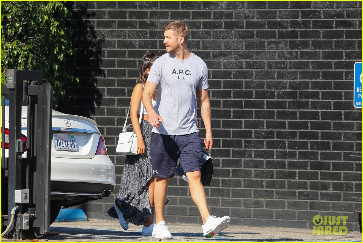 Calvin Harris Shops for Jewelry with Cristina Squyres Photo 3948953