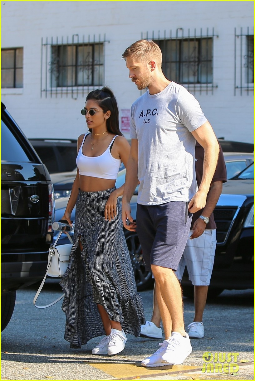 Calvin Harris Shops for Jewelry with Cristina Squyres Photo 3948954