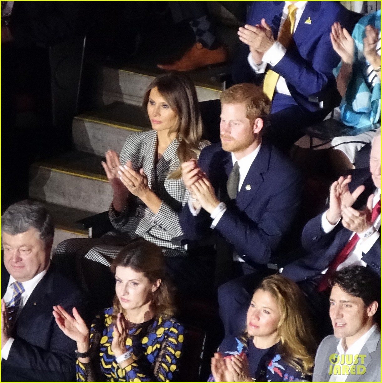 prince harry meghan markle attend first public event together 033962931