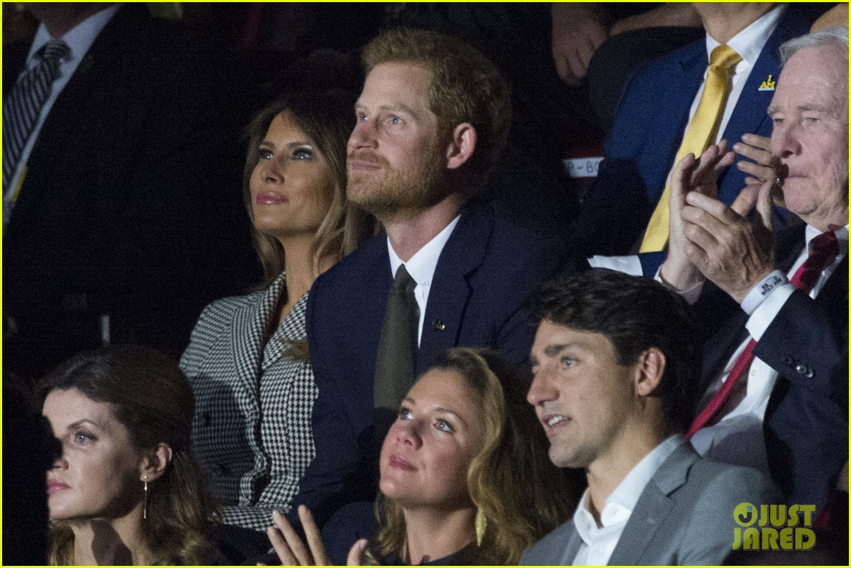 prince harry meghan markle attend first public event together 223962950