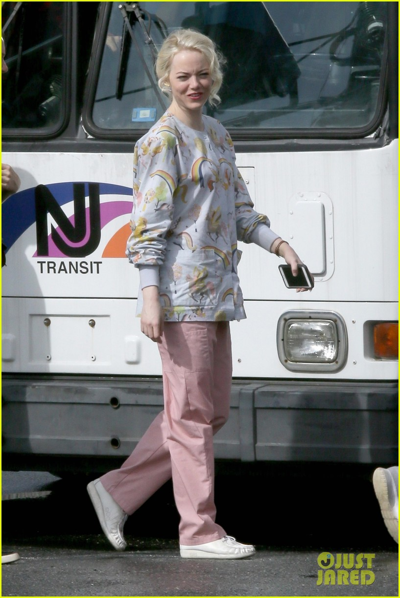 dfe85beae Jonah Hill Sports Braids on 'Maniac' Set with Emma Stone: Photo ...