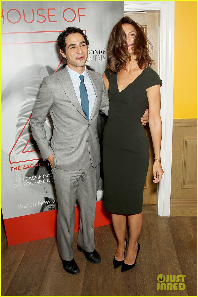 katie holmes supports designer zac posen at house of z premiere 063952578