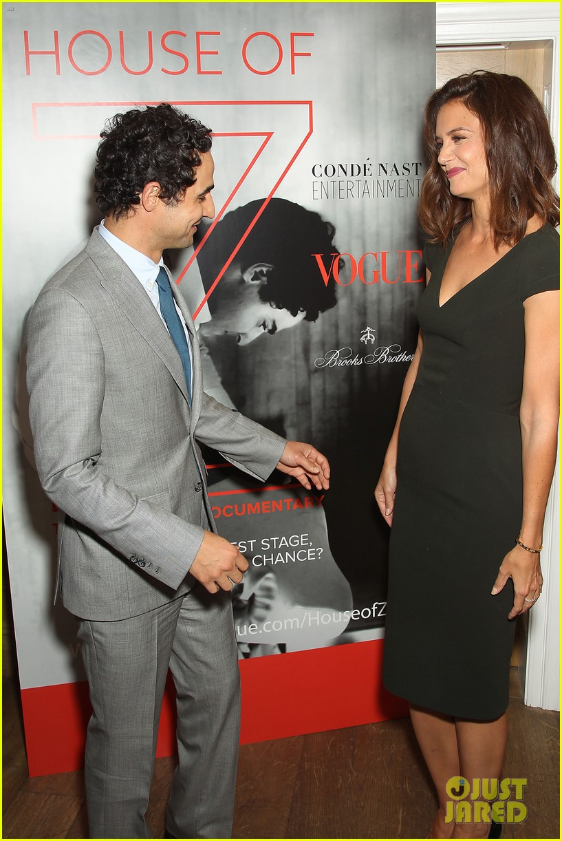 katie holmes supports designer zac posen at house of z premiere 083952580