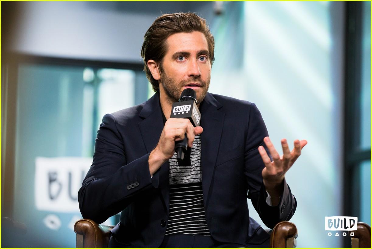 jake gyllenhaal aol build series interview 013957885