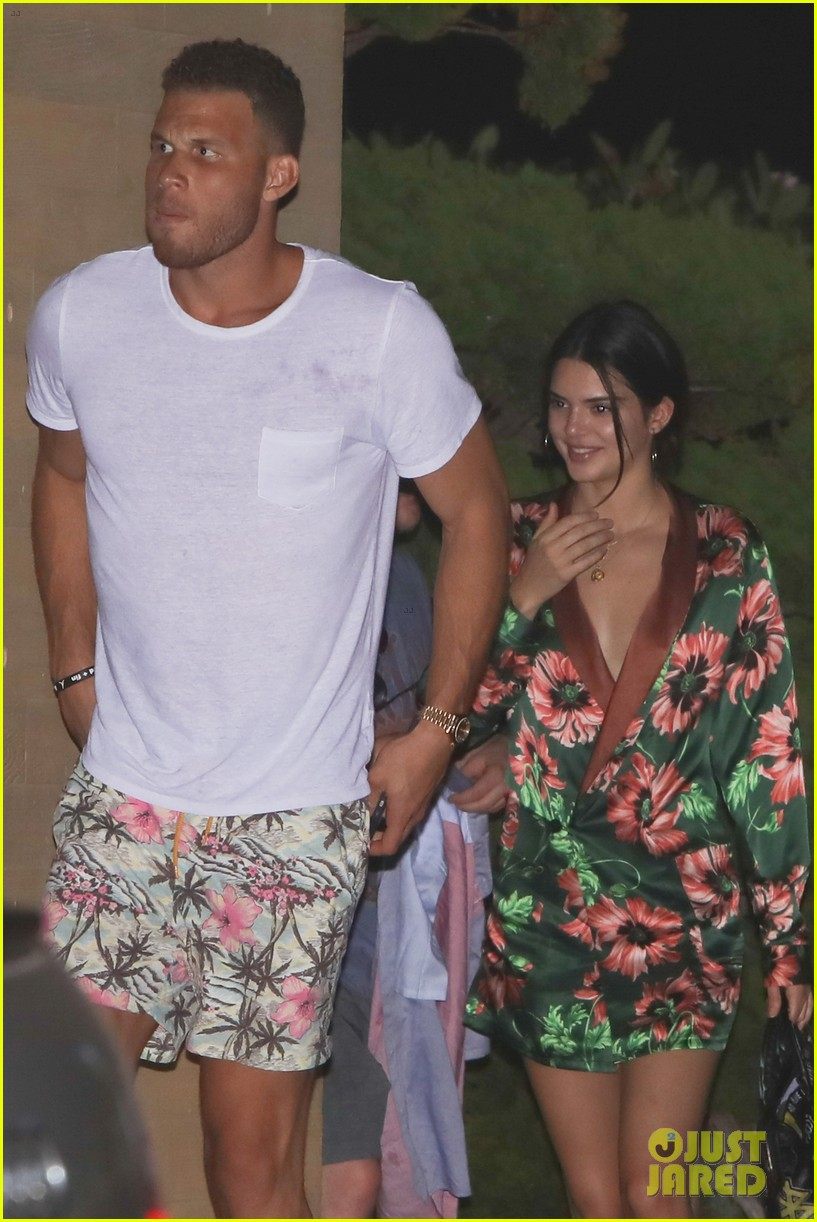 kendall jenner blake griffin grab dinner at nobu 013949757