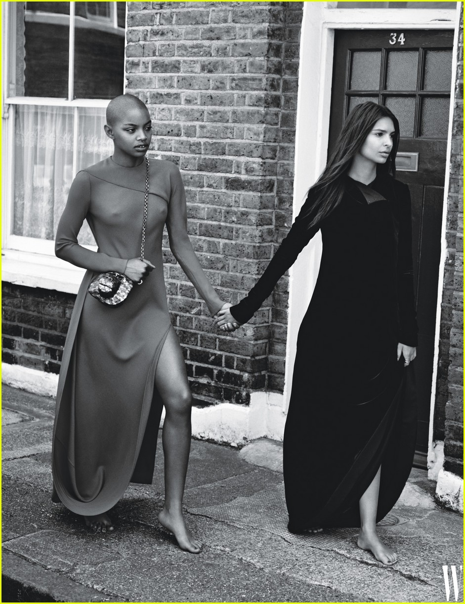 kendall jenner and emily ratajkowski hang out in haute couture and hoodies 043953028