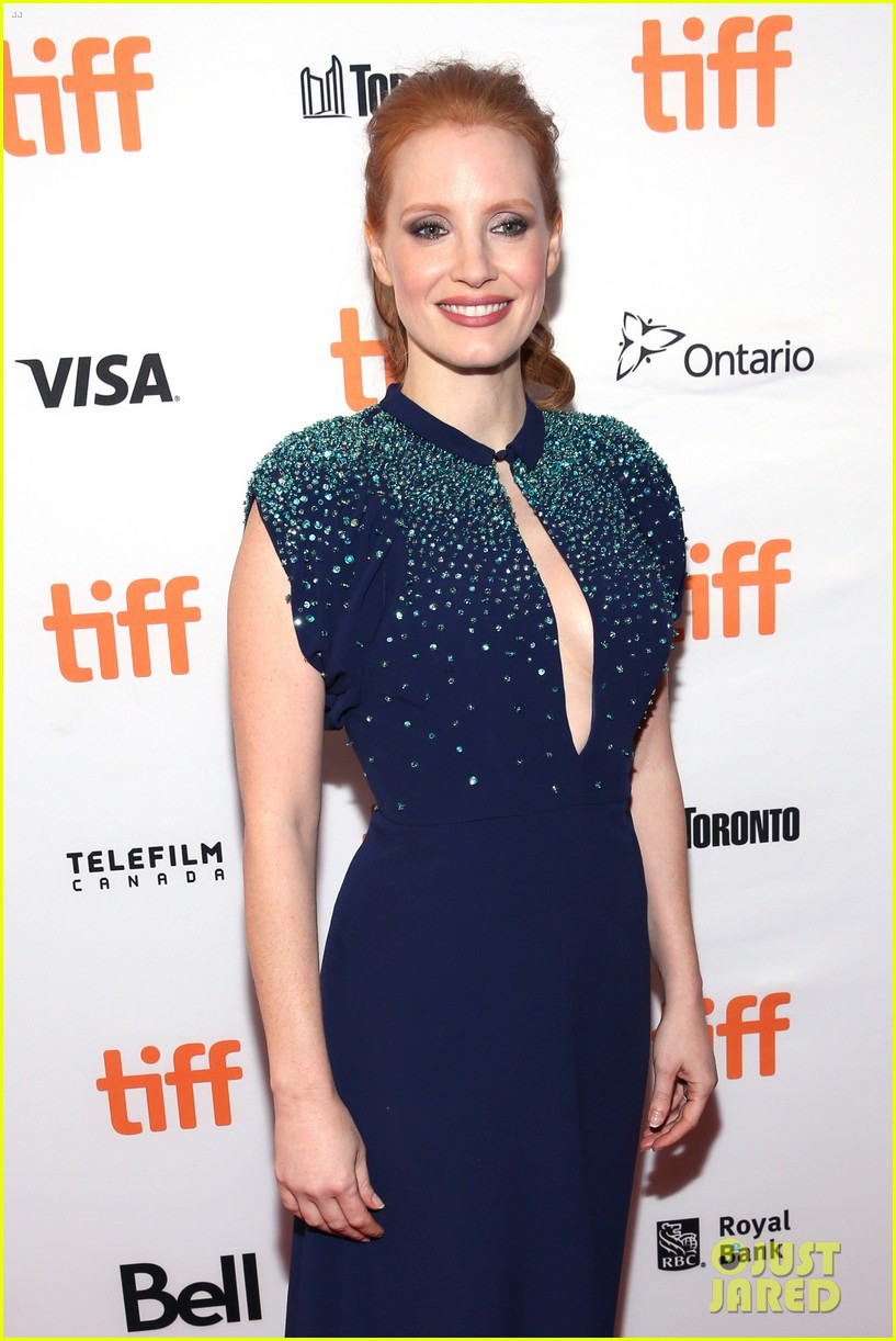 jessica chastain premieres mollys game tiff 043953179
