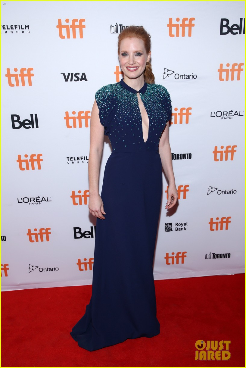 jessica chastain premieres mollys game tiff 053953180