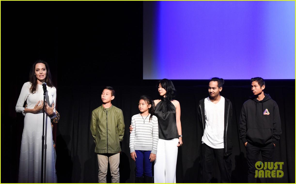 angelina jolies six kids look so grown up at telluride film fest 133949774