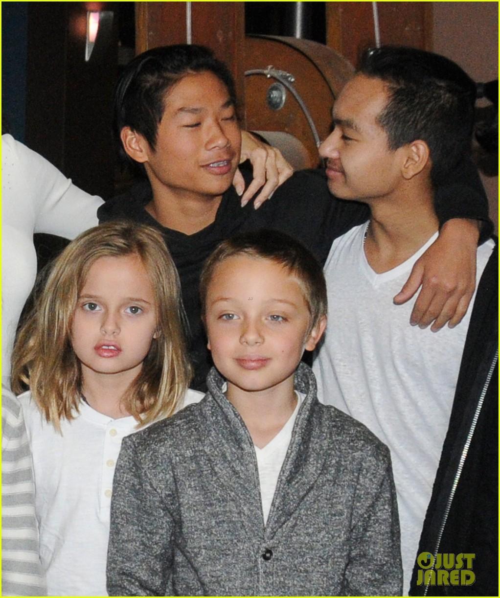 Angelina Jolie's Six K... Angelina Jolie Kids Grown Up