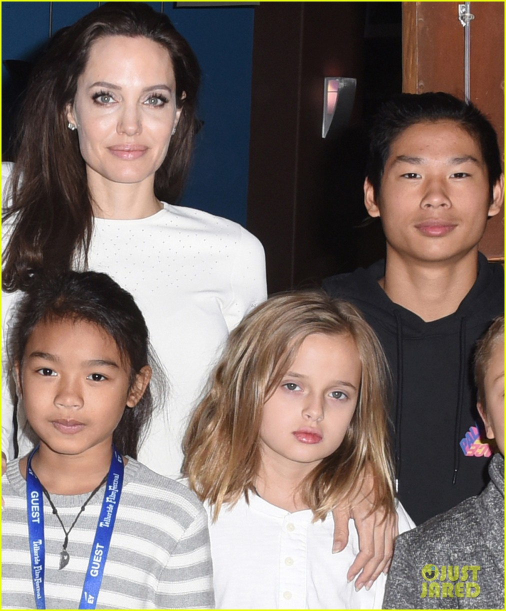 angelina jolies six kids look so grown up at telluride film fest 173949778