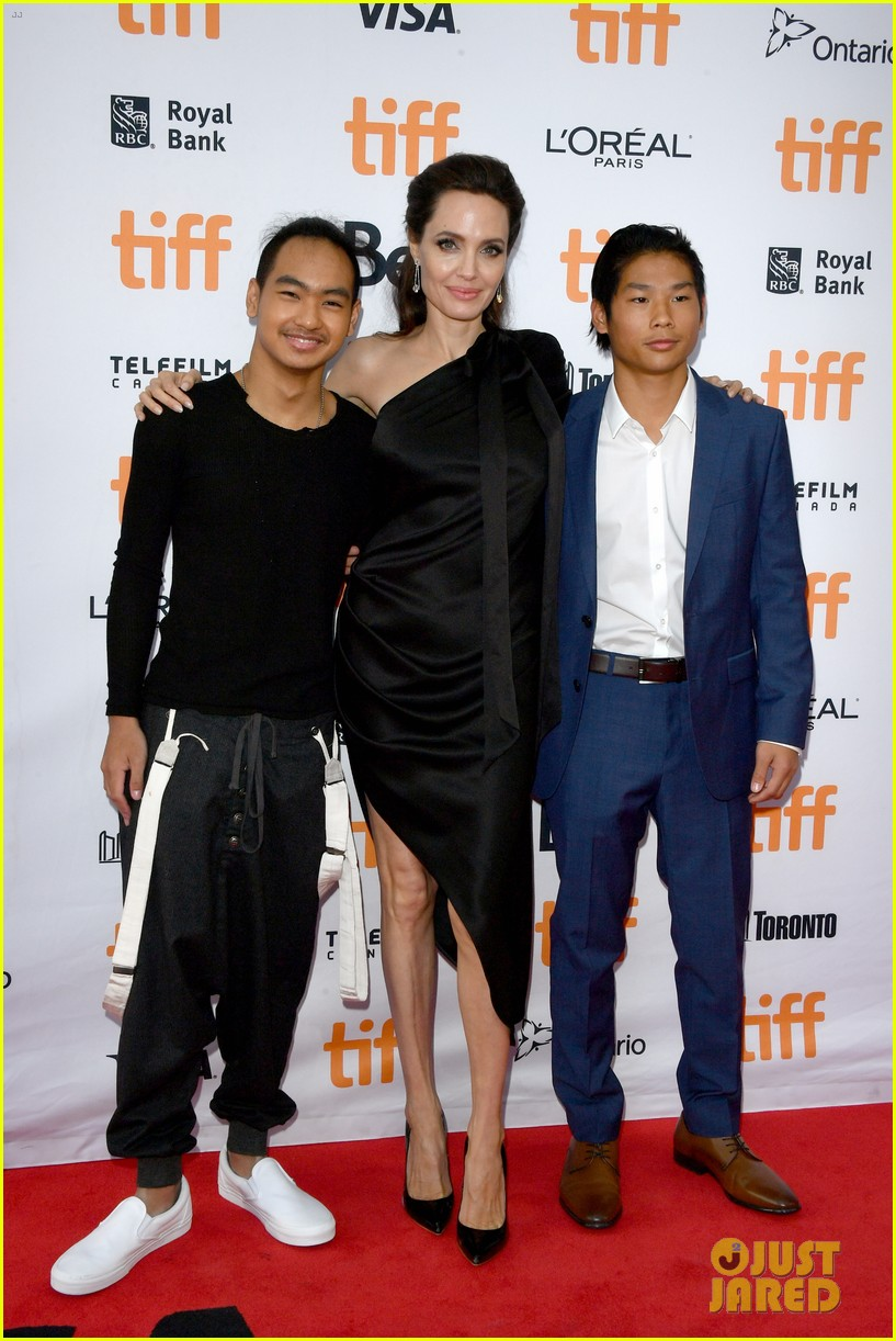 angelina jolies kids join her at first they killed my father tiff premiere 013955229