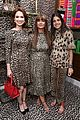 ellie kemper zosia mamet buddy up at kate spade new york leopard pop up shop 11