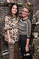 ellie kemper zosia mamet buddy up at kate spade new york leopard pop up shop 18