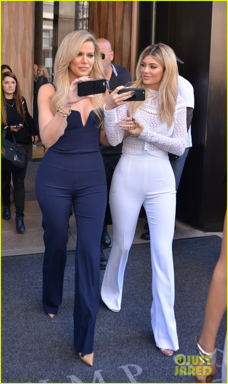 khloe kardashians due date is reportedly near kylie jenners 033964879