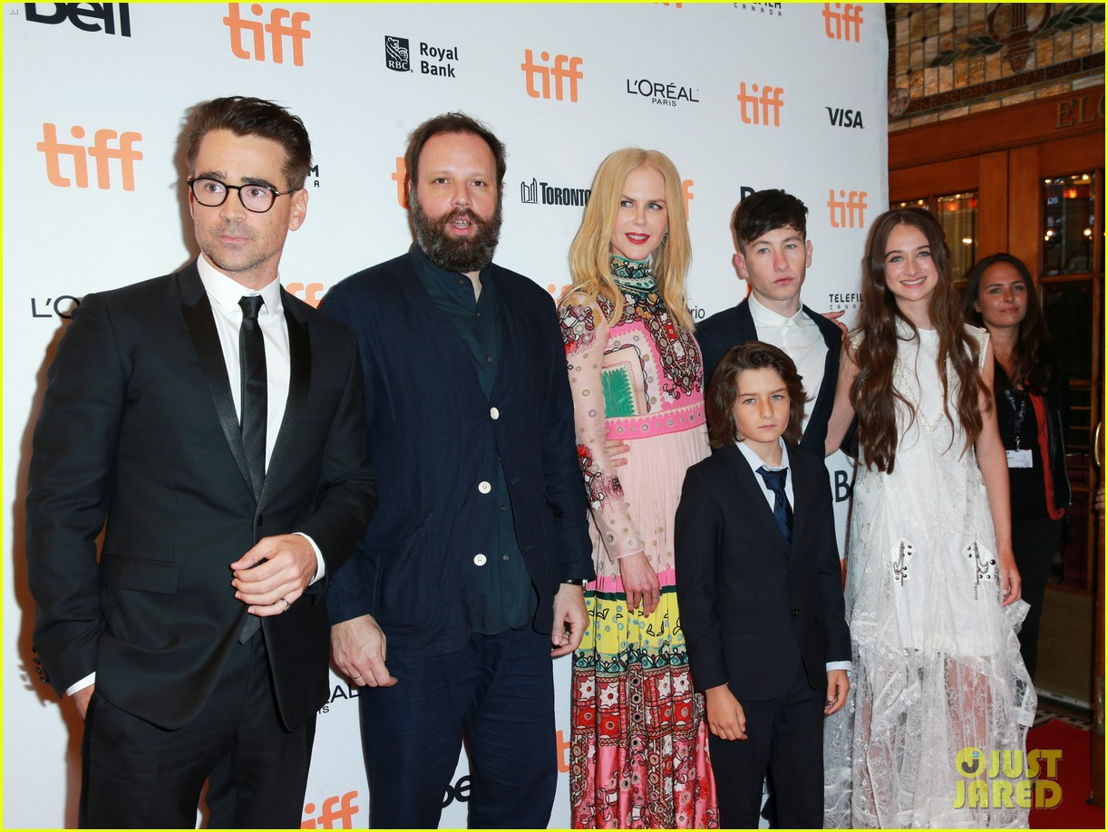 nicole kidman colin farrell premiere the killing of a sacred deer at tiff 043953922
