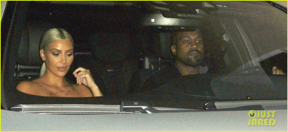 kim kardashian kanye west date night 093956334
