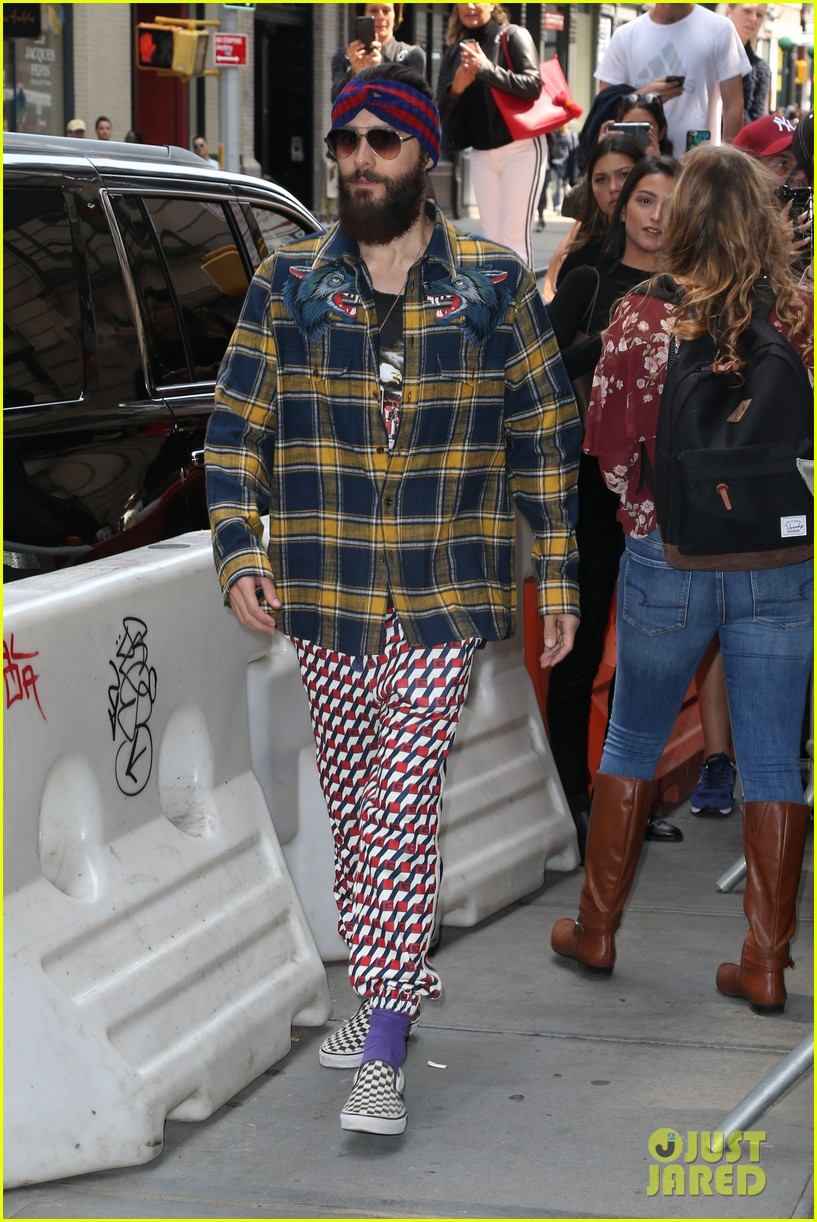 jared leto lunch at balthazar 033954878