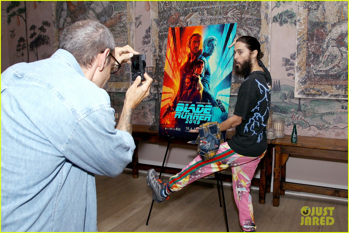 jared leto attends blade runner 2049  screening in nyc 103965042